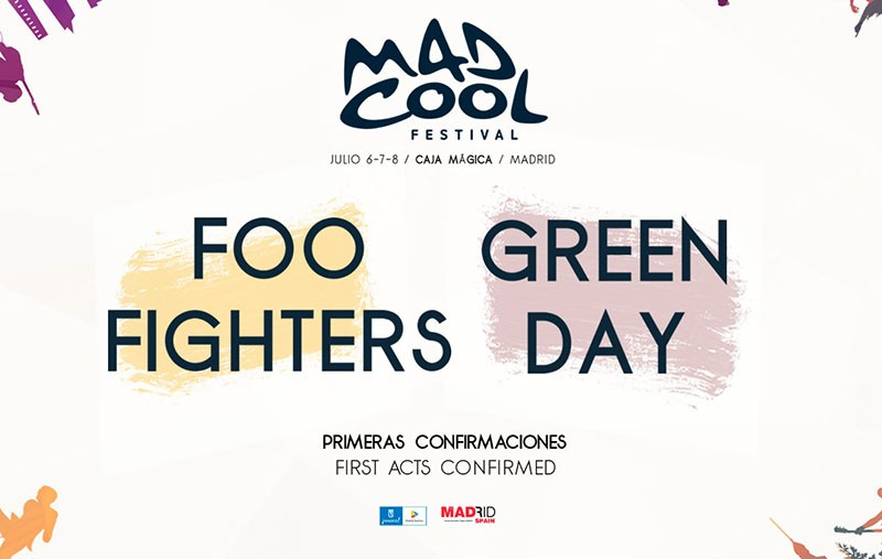 Foo Fighters y Green Day, al Mad Cool Festival 2017