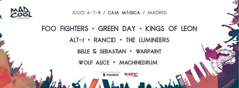 Mad Cool Festival 2017 confirms three new bands