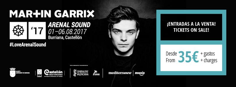 arenal sound 2017 - martin garrix