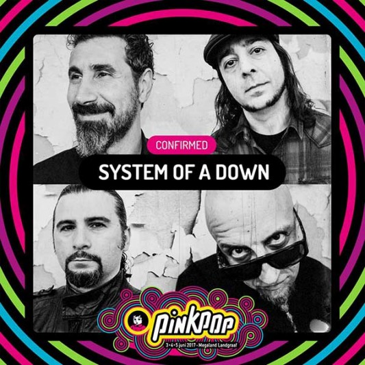 Pinkpop 2017 System of a down