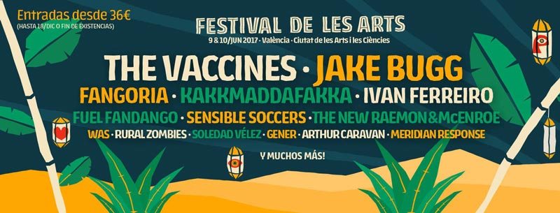 The Vaccines confirmados para el Festival de les Arts 2017