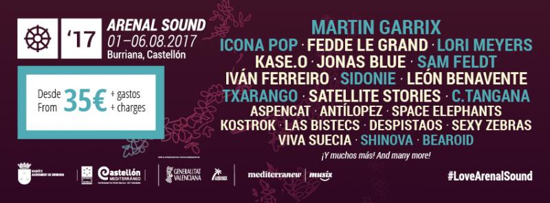 14 nuevos nombres para el Arenal Sound 2017