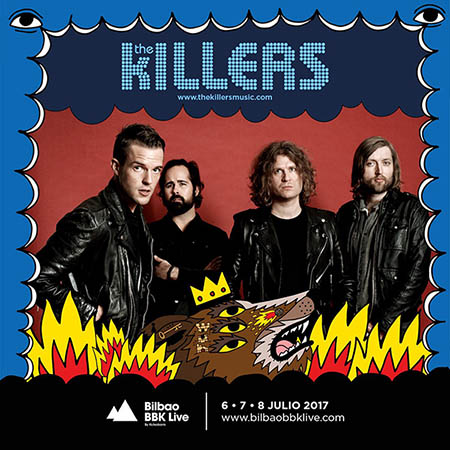 The Killers al Bilbao BBK Live 2017