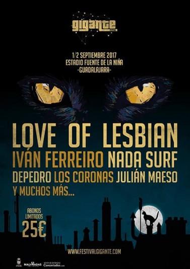 festival gigante 2017 love of lesbian