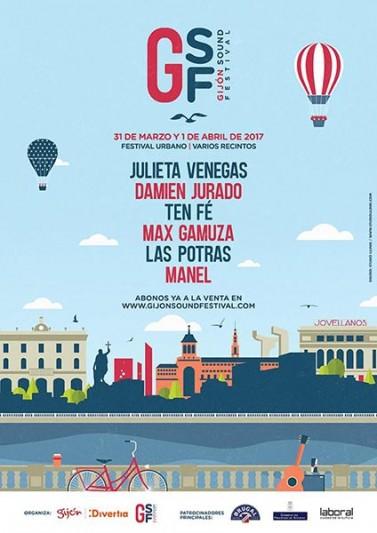 Primeras bandas para el Gijón Sound Festival 2017
