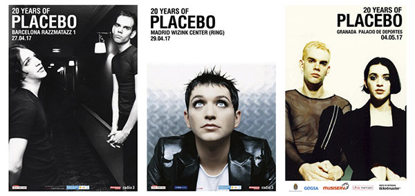 placebo Spanish tour 2017