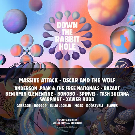 Filtrados los primeros nombres del Down The Rabbit Hole 2017