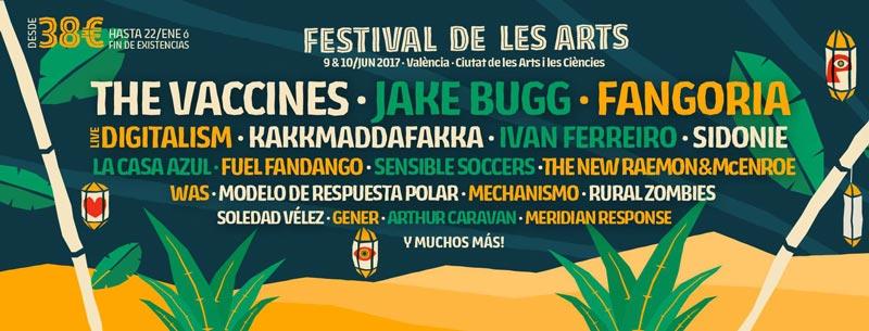 Cinco confirmaciones más para el Festival de les Arts 2017