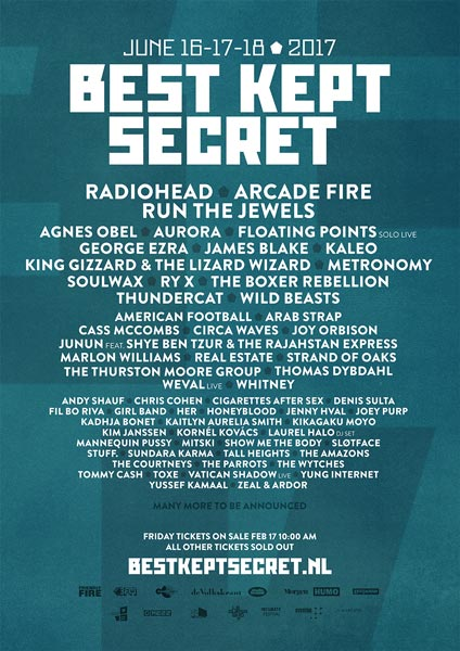 The Parrots al Best Kept Secret Festival 2017