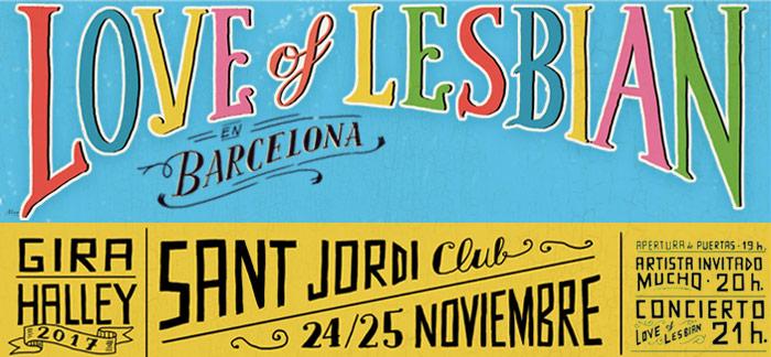 Love of Lesbian fin gira Barcelona 2017