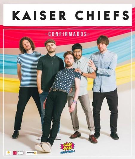 Kaiser Chiefs announced as headliner of Spanish SanSan Festival 2017