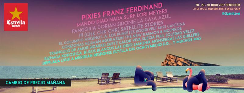 Fangoria o La Casa Azul, al Low Festival 2017