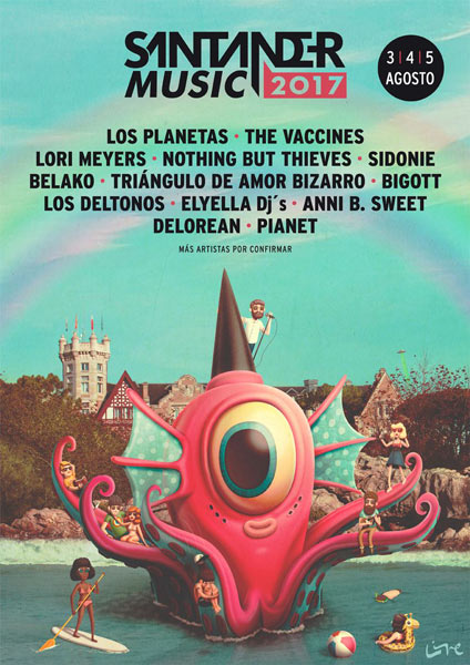Santander Music-2017 - Los Planetas