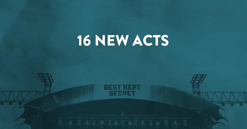 16 nuevas bandas para el Best Kept Secret Festival 2017