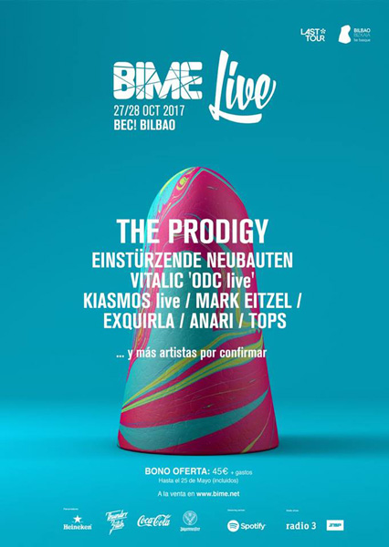 First names for Basque Festival BIME Live 2017 confirmed