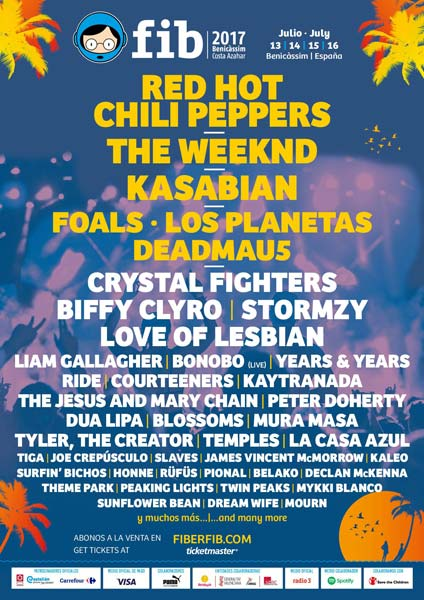 Biffy Clyro or Temples, among the new confirmations for Spanish FIB 2017