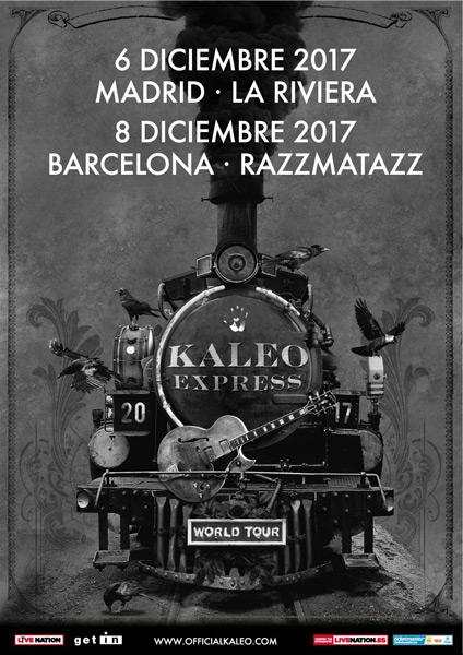 Kaleo anuncian gira por España en Diciembre de 2017