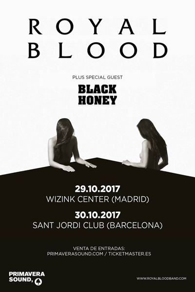 Royal Blood España 2017