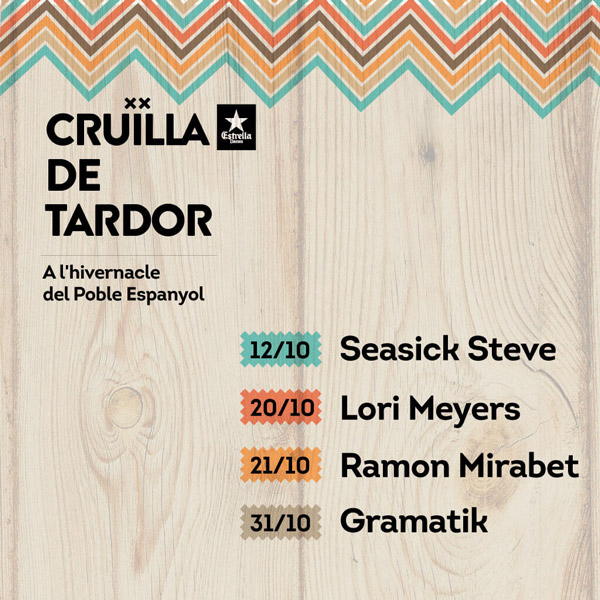 First names confirmed for Catalan Festival Cruïlla Tardor 2017