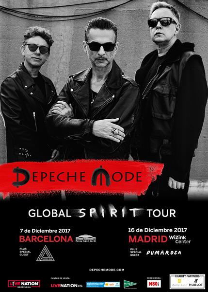 Confirmados los teloneros de Depeche Mode en su gira española