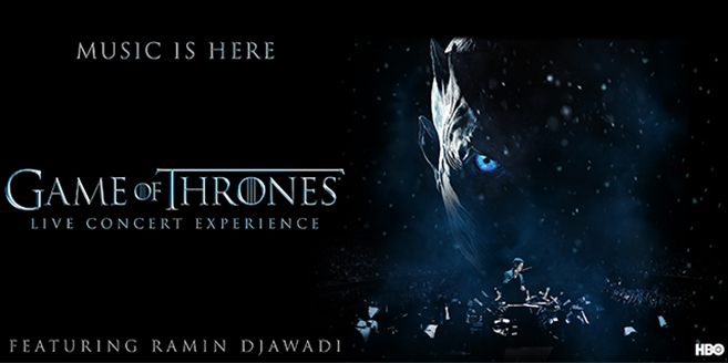 Game of Thrones Live Concert Experience announce European tour coming in 2018