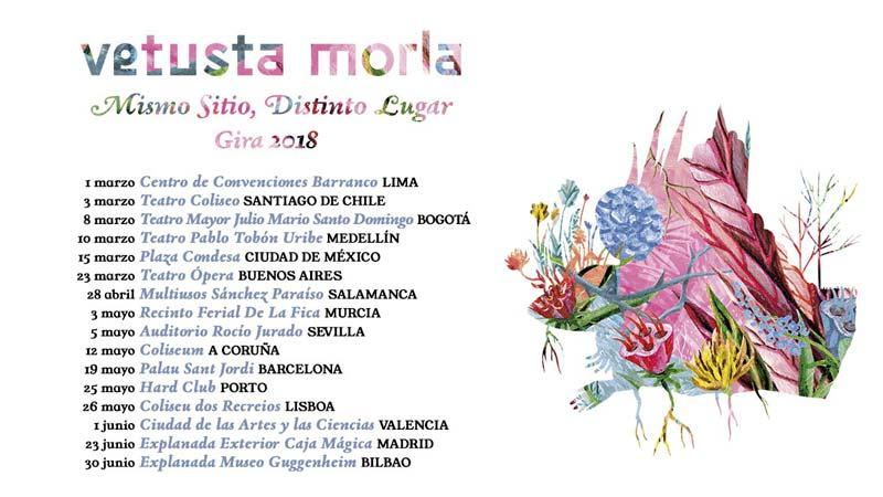 Vetusta Morla anuncian gira para 2018