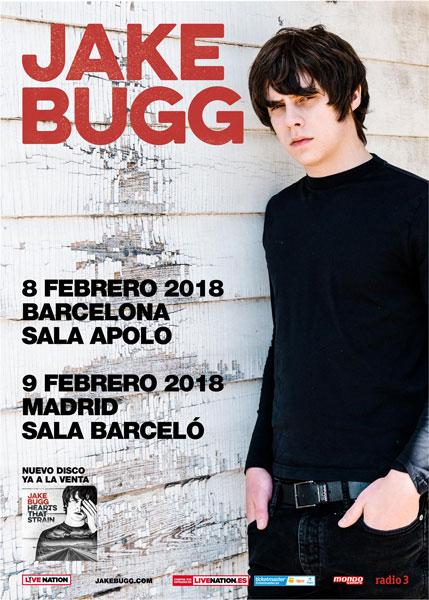 Jake Bugg anuncia gira acústica en España en febrero de 2018