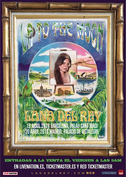 Lana del Rey confirma conciertos en Madrid y Barcelona