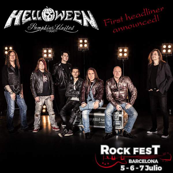 Primeras confirmaciones para el Rock Fest Barcelona 2018