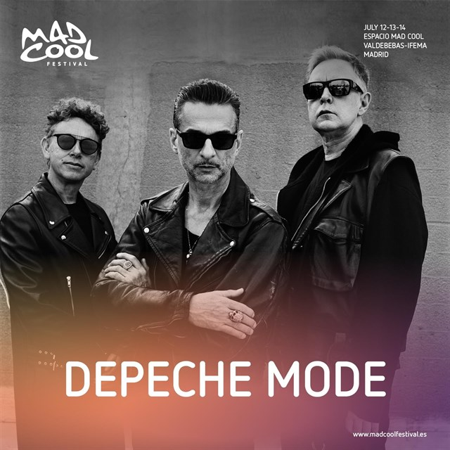 Depeche Mode y Massive Attack, al Mad Cool Festival 2018