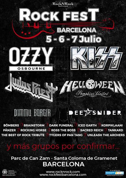 Nueve nuevas bandas para el Rock Fest Barcelona 2018