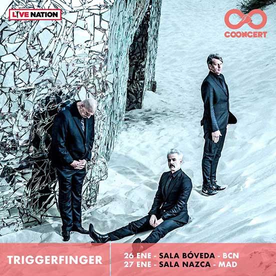 Triggerfinger, en Barcelona y Madrid en enero de 2018