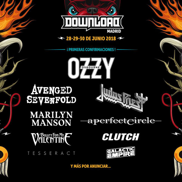 Download Festival Madrid 2018 Ozzy