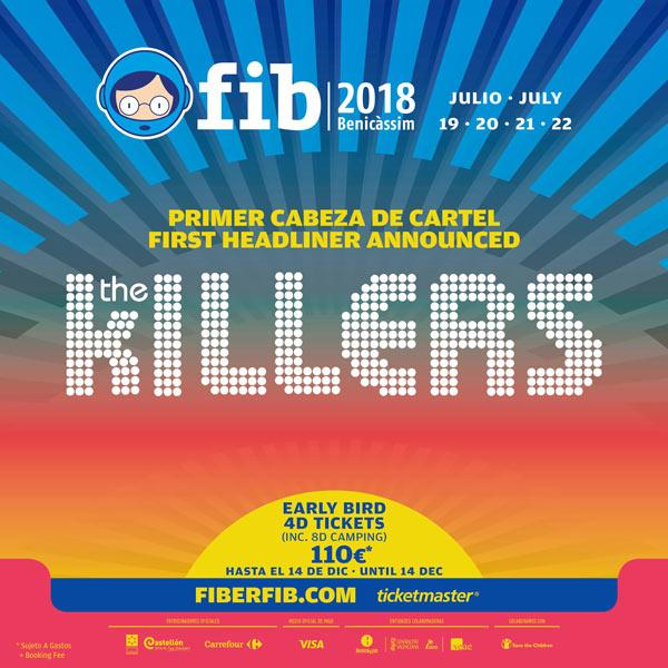 FIB 2018 The Killers