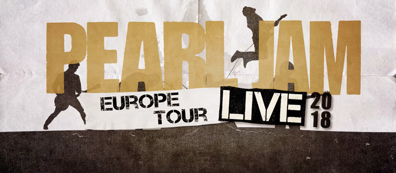 Pearl Jam European Tour 2018