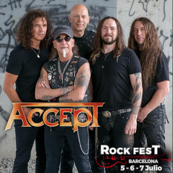 Accept Rock Fest Barcelona 2018
