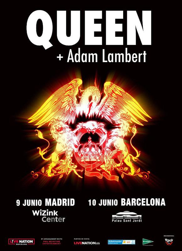 Queen de gira por España en junio de 2018