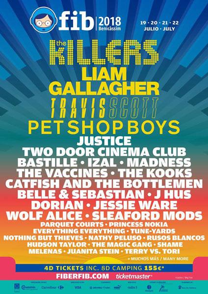 Pet Shop Boys encabezan las nuevas confirmaciones del FIB 2018