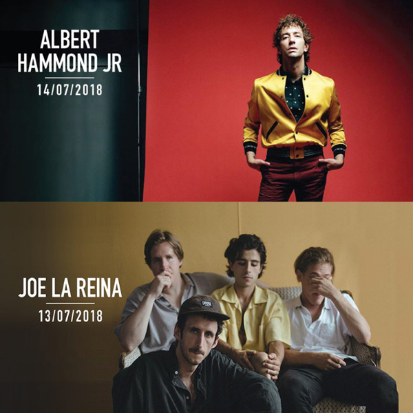 Albert Hammond Jr y Joe la Reina, al Cruïlla 2018