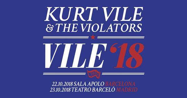 Kurt Vile - Barcelona 2018