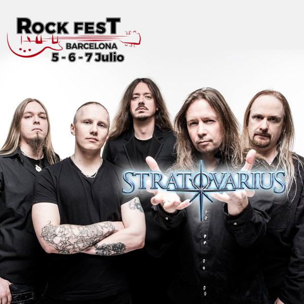 Rock Fest Barcelona 2018 cierra su cartel con Stratovarius