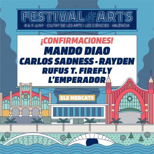 Nuevas confirmaciones para Festival de les Arts