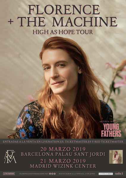 Florence + The Machine announces two concerts in Spain in 2019