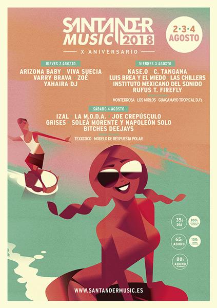 El Santander Music 2018 cierra su cartel
