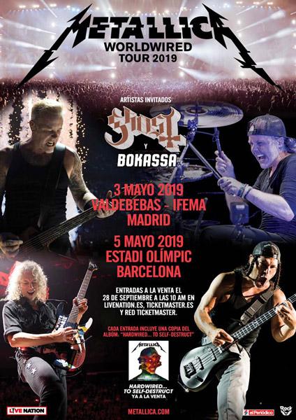 Metallica announce 2019 European Tour