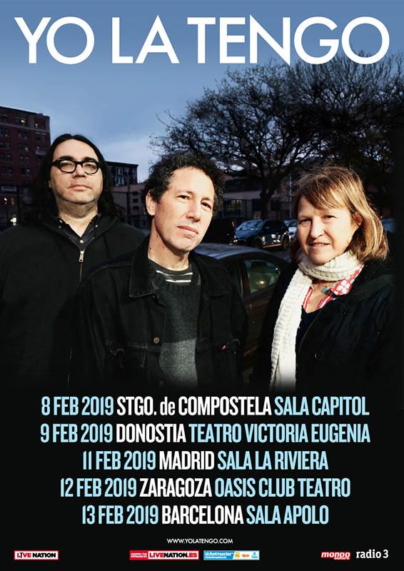 Yo La Tengo anuncian gira por España en 2019