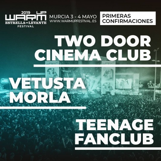 Warm UP estrella levante 2019 - Vetusta Morla