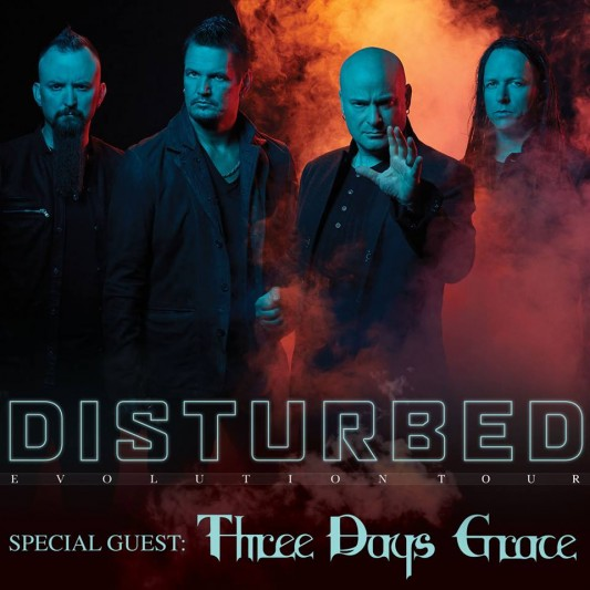 Disturbed announces 2019 Worldwide Tour