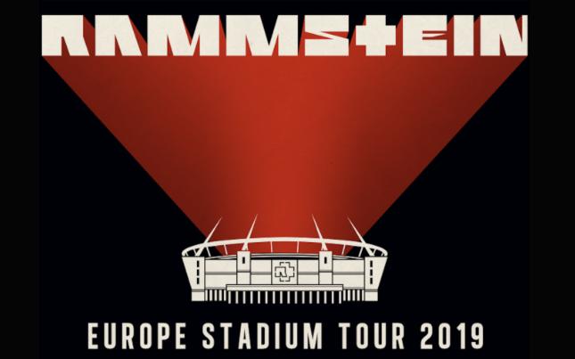 Rammstein announces European Stadium Tour 2019