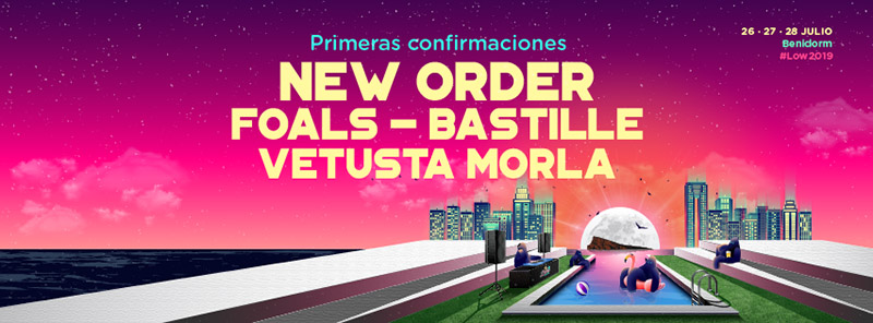 Low Festival 2019 New Order